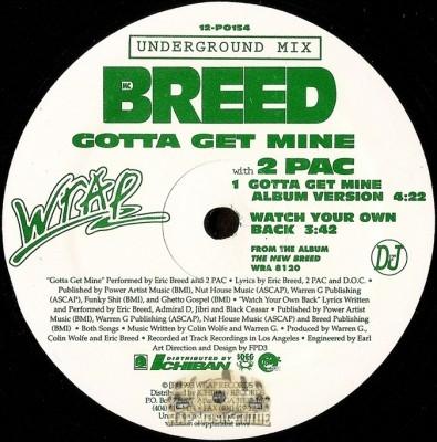 MC Breed - Gotta Get Mine