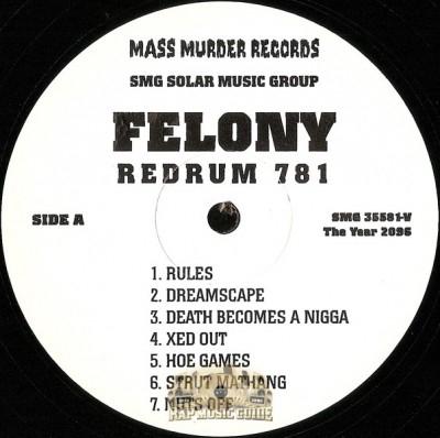 Felony - Redrum 781