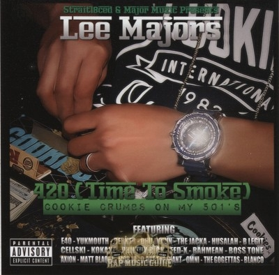 Lee Majors - 420 (Time To Smoke) Cookie Crumbs On My 501's