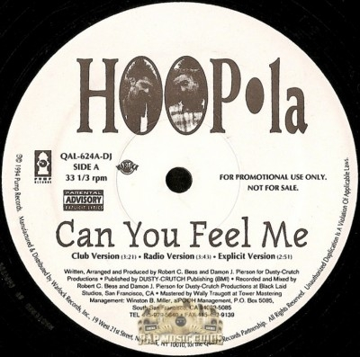 Hoopla - Can You Feel Me / Brotha's Goin' Crazy