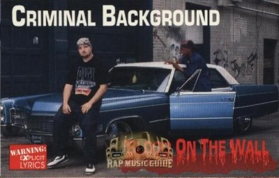 Criminal Background - Blood On The Wall