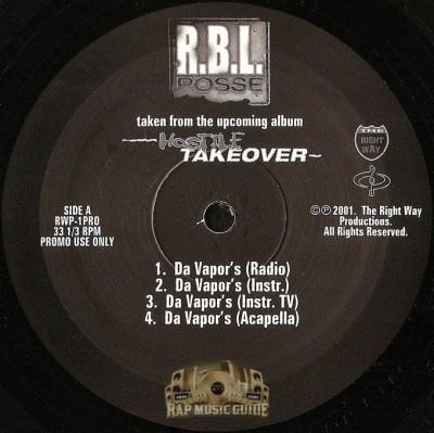 R.B.L. Posse - Hostile Takeover EP