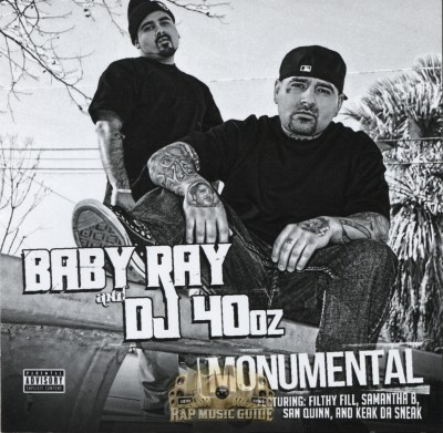 Baby Ray & DJ 40oz - Monumental