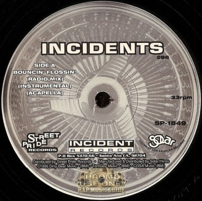 Incidents - Bouncin' Flossin'