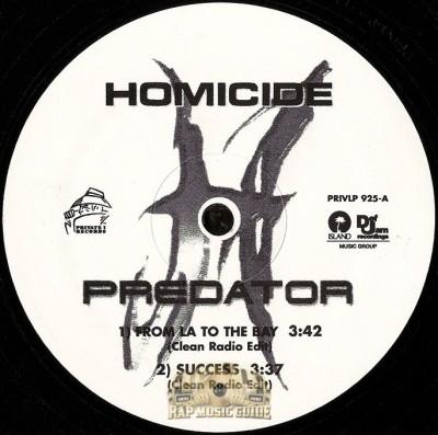 Homicide - The Plantation
