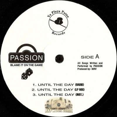 Passion - Until The Day