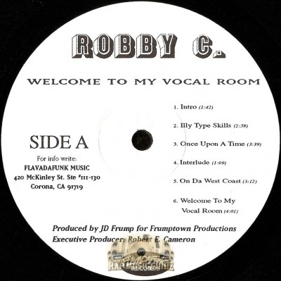 Robby C. - Welcome To My Vocal Room