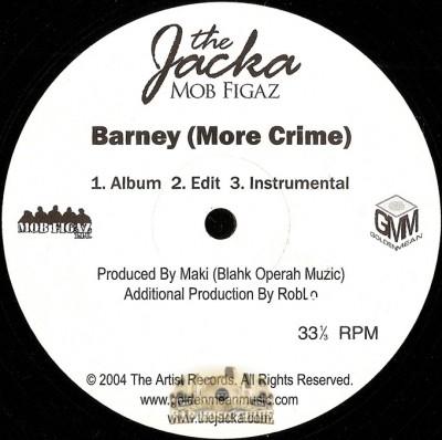 Jacka - Barney (More Crime) / Girls Say