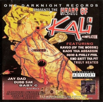 One Darknight Records Presents - The Heart of Kali Kompilation