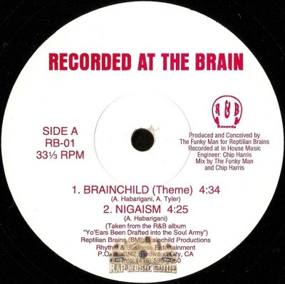 Recorded At The Brain - Brainchild