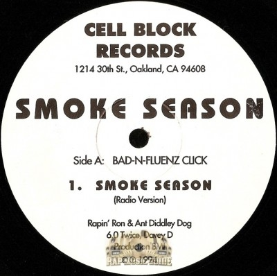 Rappin' Ron & Ant Diddley Dog - Smoke Season