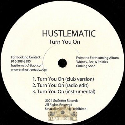 Hustlematic - Turn You On