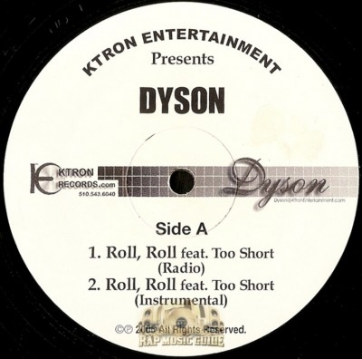 Dyson - Roll, Roll / Ride Or Die