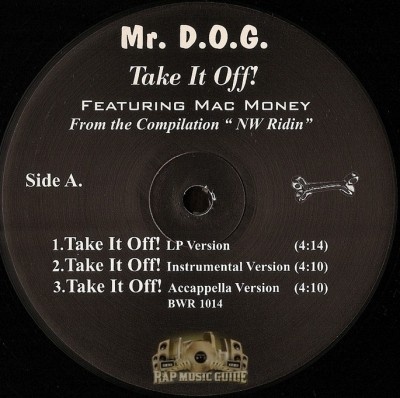 Mr. D.O.G. - Take It Off!