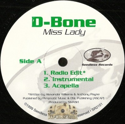 D-Bone - Miss Lady