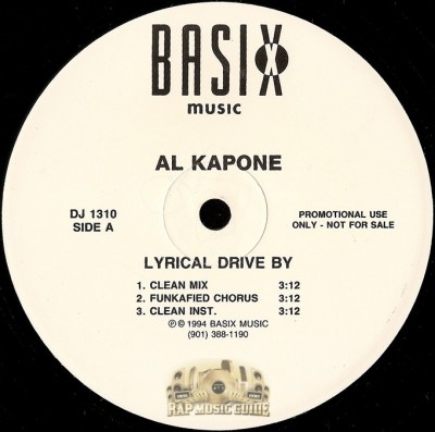 Al Kapone - Lyrical Drive By