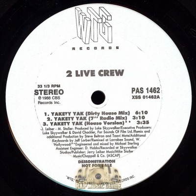2 Live Crew - Yaketty Yak
