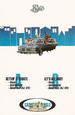 Ligit - Settin' It Strate / Let's Get Busy