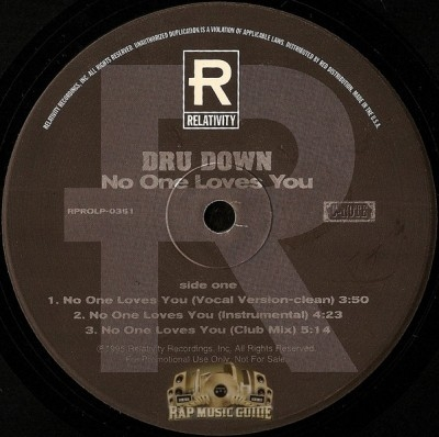 Dru Down - No One Loves You