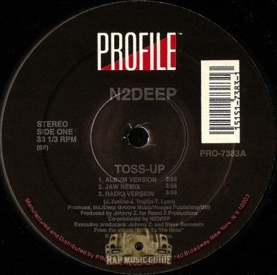N2Deep - Toss-Up / Do Tha Crew