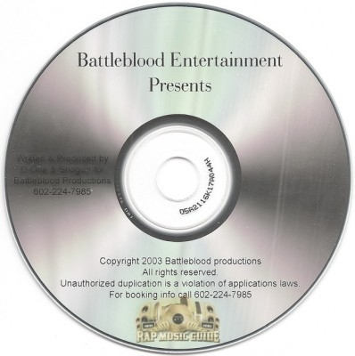 D-One & Shogun - Battleblood Entertainment Presents