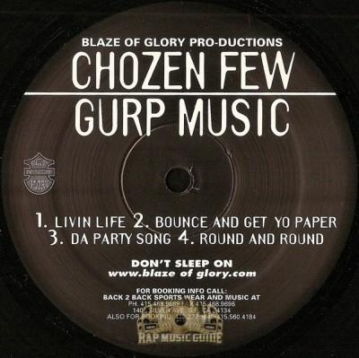 Chozen Few - Gurp Music