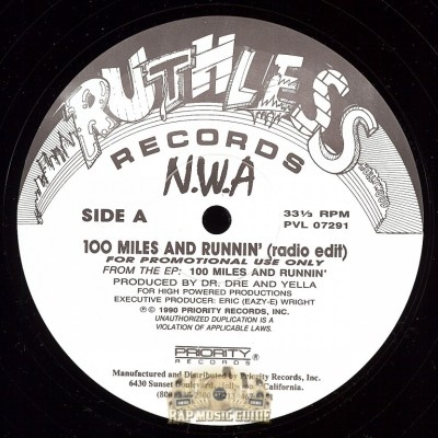 N.W.A - 100 Miles And Runnin' (Radio Edit)
