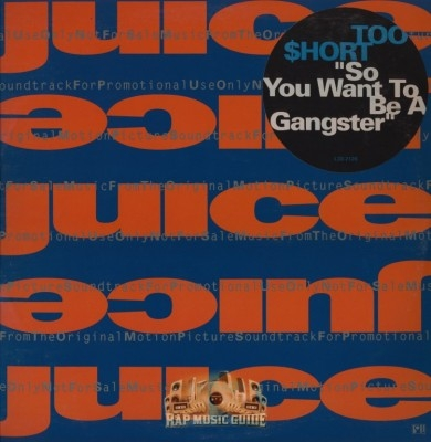 Too Short - So You Want To Be A Gangster