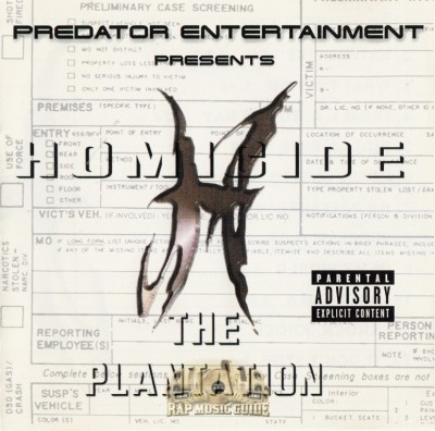 Homicide - The Plantation