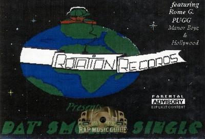 Rotation Records Presents - Dat Smokin Single