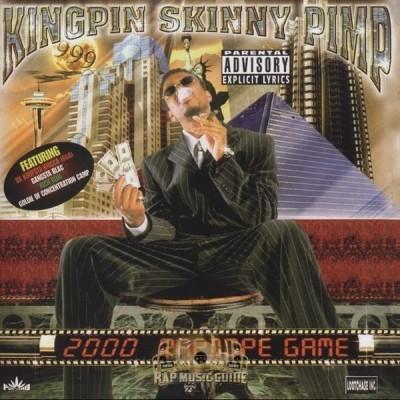 Kingpin Skinny Pimp - 2000 Rapdope Game