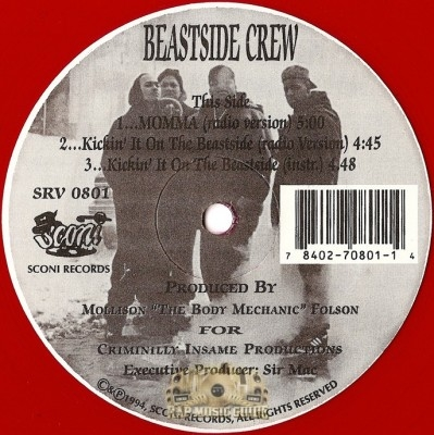 Beastside Crew - Momma / Kickin' It Off The Beastside