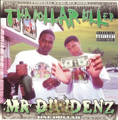 Mr. Dividenz - The Dollar Bill E.P.