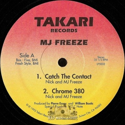 MJ Freeze - Catch The Contact