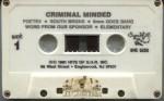 Criminal Minded - Criminal Minded