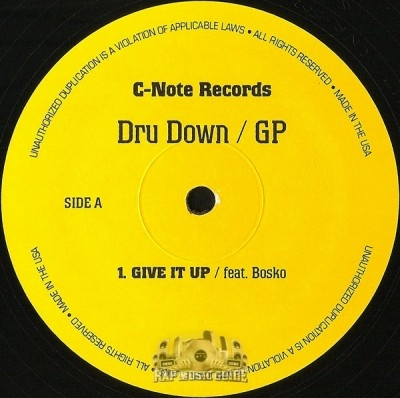 Dru Down - Give It Up / Jam On It