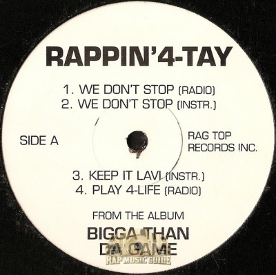 Rappin' 4-Tay - Bigga Than Da Game EP