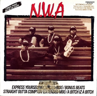 N.W.A - Express Yourself / Straight Outta Compton