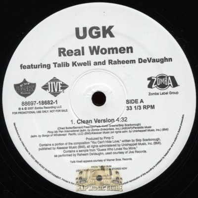 UGK - Real Women