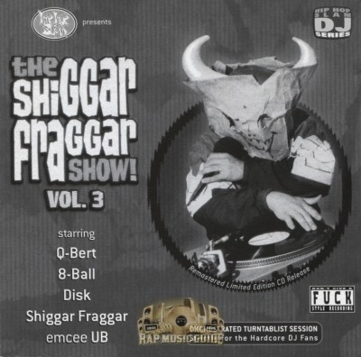 The Invisibl Skratch Piklz - The Shiggar Fraggar Show! Vol. 3