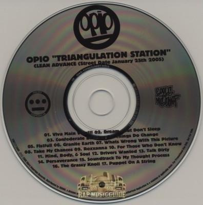 Opio - Triangulation Station (Clean Advance)