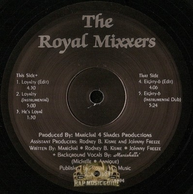 Royal Mixxers - Loyalty / Eighty-6