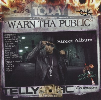 Telly Mac - Warn The Public