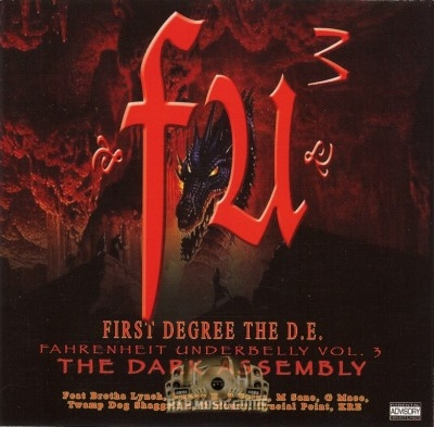 First Degree The D.E. - Fahrenheit Underbelly, Vol. 3: The Dark Assembly