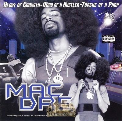 Mac Dre - Heart Of Gangsta, Mind Of A Hustler, Tounge Of A Pimp