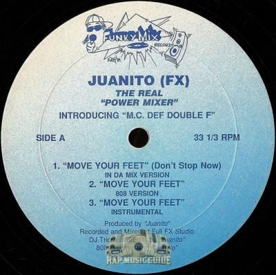 Juanito (FX) - Move Your Feet
