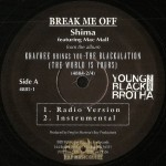 Shima - Break Me Off
