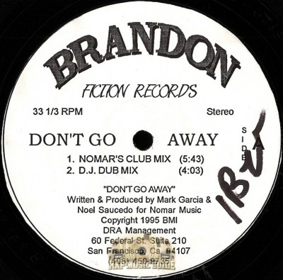 Brandon - Don't Go Away