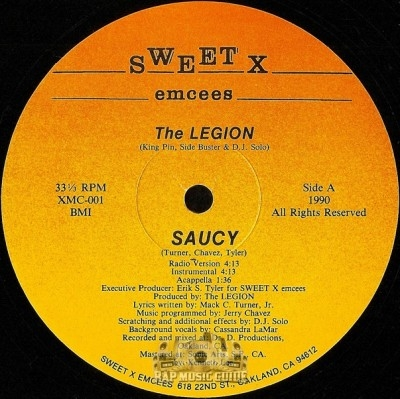 Legion - Saucy / We Keep On Coming