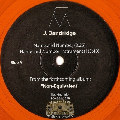 J. Dandridge - Name and Number